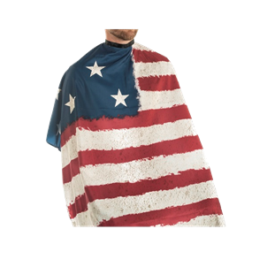 Campbell's USA Flag Cape